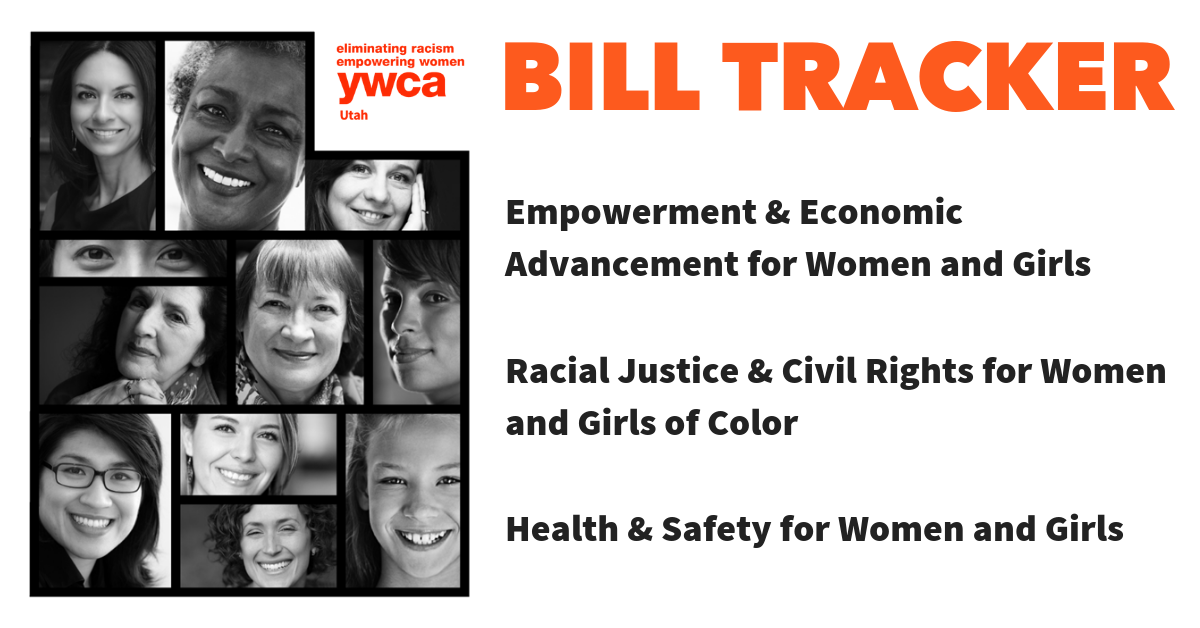YWCA Utah Bill Tracker