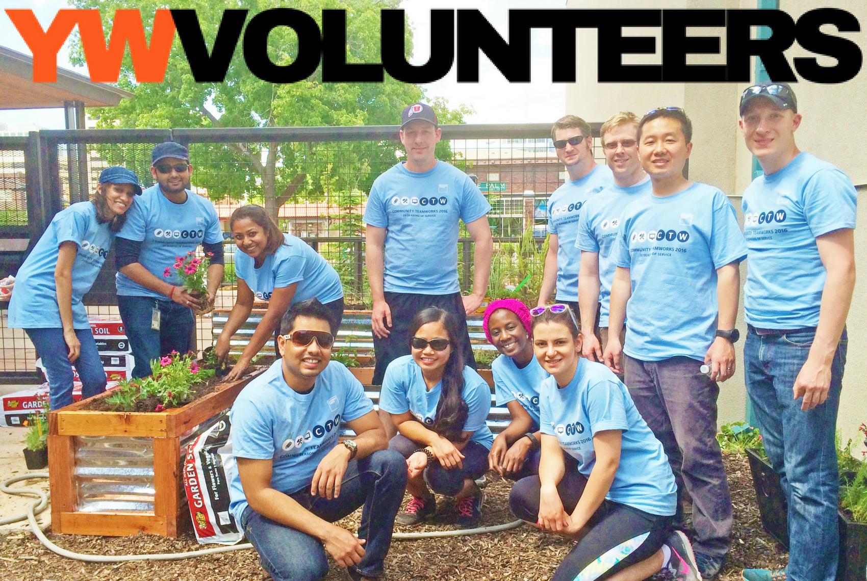 volunteer at the ywca utah