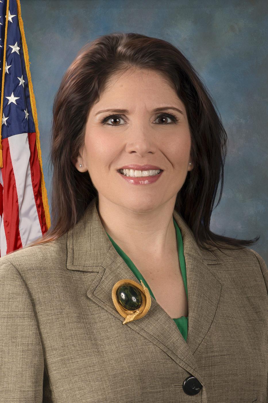 Lieutenant Governor Evelyn Sanguinetti