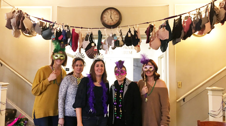 Mardi Bra Donation Drive for YWCA Utah