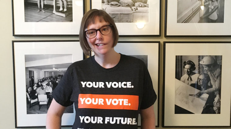 Your Voice. Your Vote. Your Future. YWCA Utah T Shirt