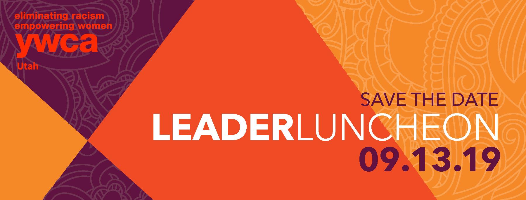 YWCA Utah LeaderLuncheon