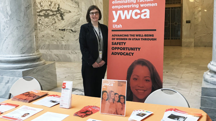 YWCA Utah Director of Public Policy Erin Jemison